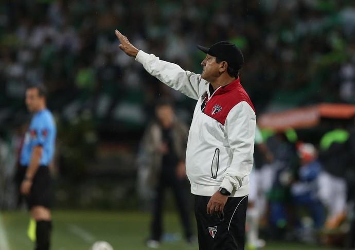 Muricy Ramalho Atlético Nacional x São Paulo (Foto: Rubens Chiri/saopaulofc.net)