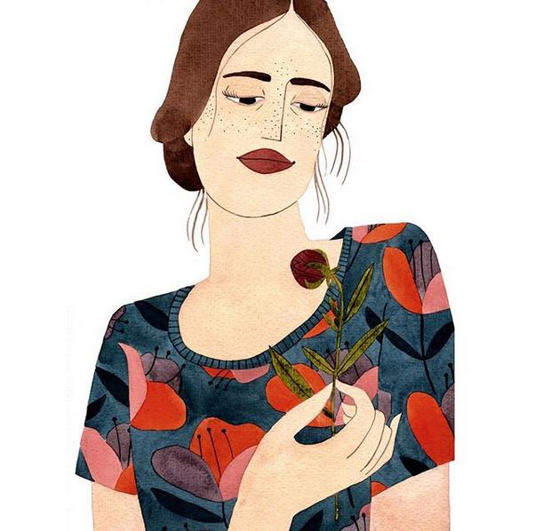 Ilustração da artista Brunna Mancuso (@brunnamancuso) (Foto: Reprodução/Instagram)
