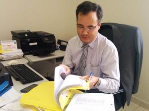 Delegado prorrogou prazo antes de concluir investigação (Foto: Ariane Viana/G1)