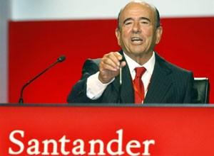 O presidente-executivo do Santander no mundo, Emilio Botin (Foto: Fernando Banos / AFP)