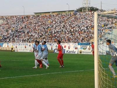 estádio do café Londrina x Anapolina (Foto: Rodrigo Saviani)