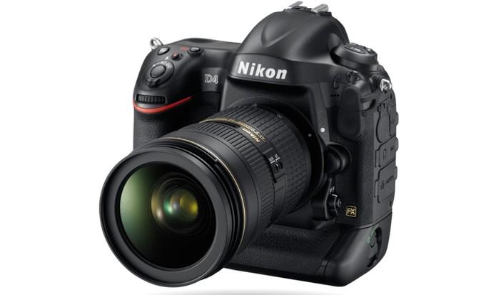 Nikon D4 tem resolução de 16,2 megapixels e faz vídeos em Full HD (Foto: Divulgação/Nikon)