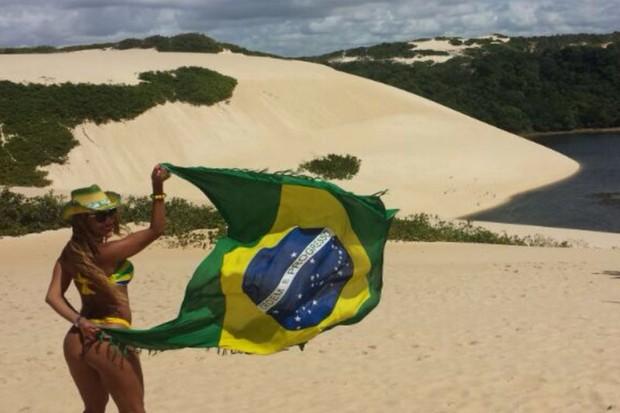 Ana Paula Evangelista (Foto: Daniel Pinheiro/ R2assessoria)