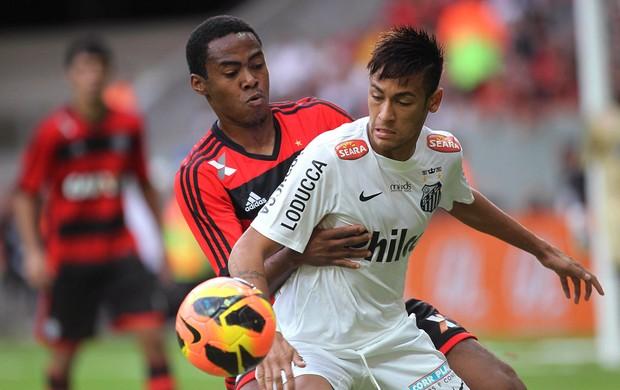 Neymar Elias Santos x Flamengo (Foto: Reuters)