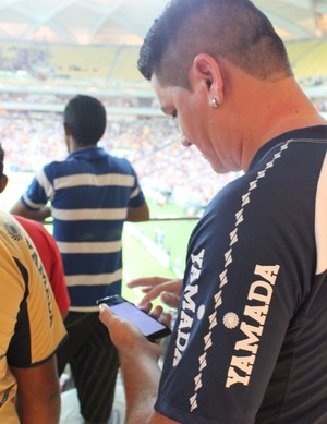 Arena da Amazônia - inauguração (Foto: Fabrício Marques)