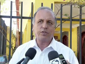 Luiz Fernando Pezão visitou Três rios (Foto: Reprodução/TV Rio Sul)