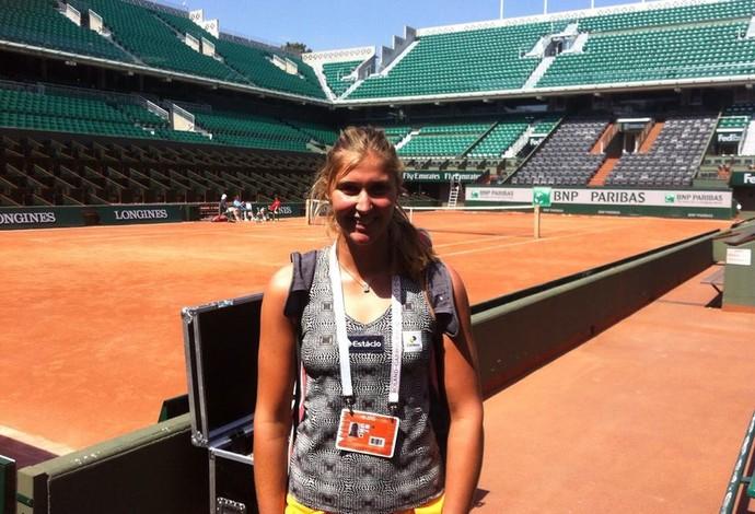 Bia Haddad qualificatório de Roland Garros (Foto: Reprodução/Facebook)