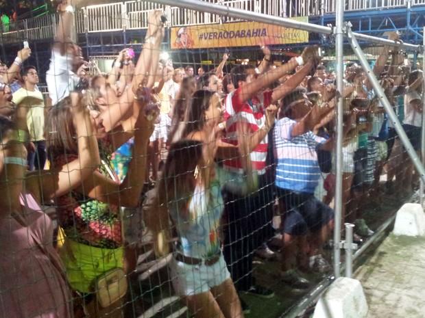 Fãs de Ivete Sangalo (Foto: Ruan Melo/G1)