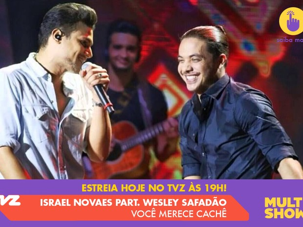 Israel Novaes (Foto: Multishow)