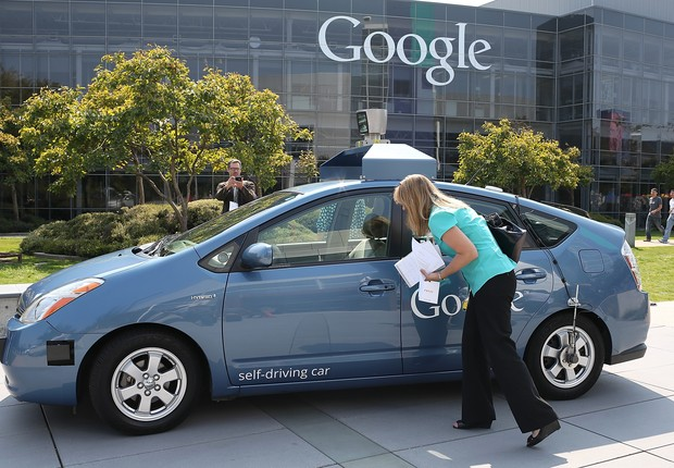 Self driving car da Google (Foto: Justin Sullivan/Getty Images)