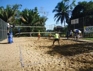 Etaoa final do Open de Vôlei de Praia. (Foto: Divulgação/FEAV)