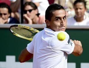 tênis Nicolás Almagro nas semifinais do ATP de Bastad (Foto: EFE)