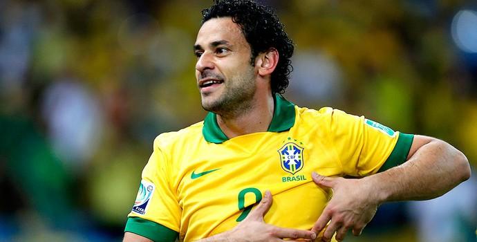 Fred brasil gol espanha copa das confederações (Foto: Agência Reuters)