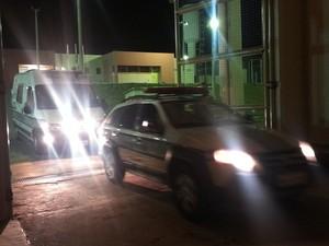 Presos foram levados para o PAM após passarem mal (Foto: Anna Lúcia Silva/ G1)