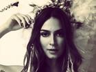 Thaila Ayala posta foto vestida de índia: 'Não mexe comigo'