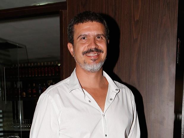Diretor André Câmara confraternizou com colegas no evento (Foto: Felipe Monteiro/Gshow)