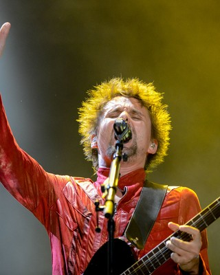 Muse (Foto: Flavio Moraes/G1)