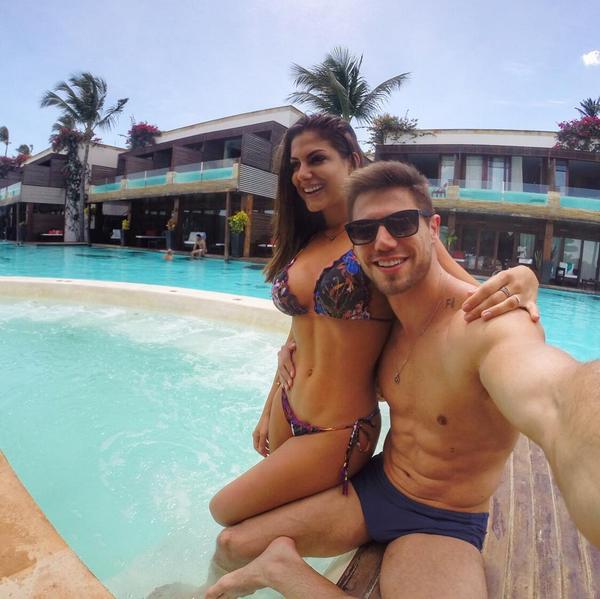 Mari Gonzales e Jonas (Foto: Reprodução/Instagram)