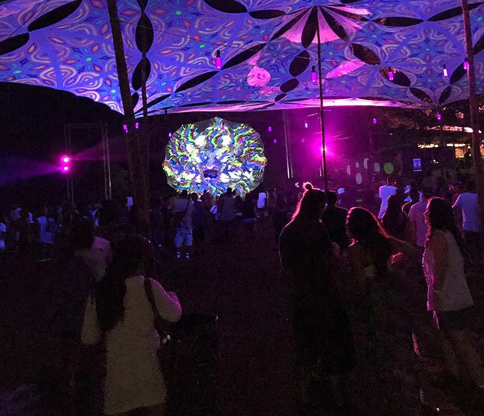 Festa foi realizada em Vila de Abrantes, região metropolitana de Salvador (Foto: Arquivo Pessoal)