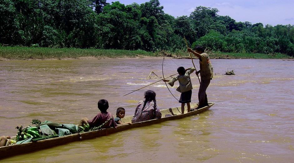 A tribo Tsimané vive na Amazônia boliviana (Foto: Flickr)
