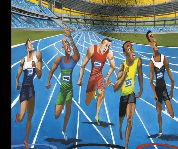 Capa da New Yorker criticando a Olimpíada (Foto: Reprodução)