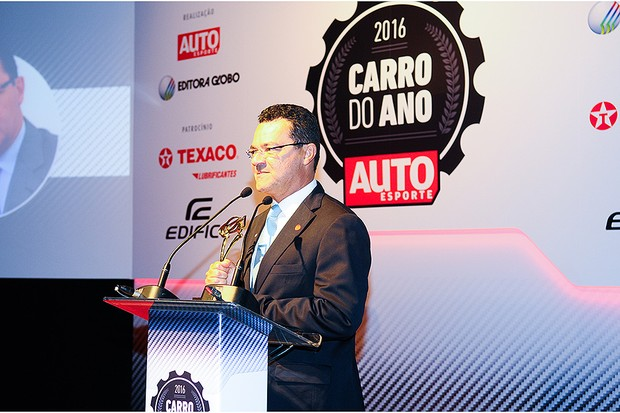Besaliel Botelho, presidente da Bosch, recebe o prêmio (Foto: Fotógrafo: Rafael Jota)