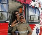 Após acidente, jovem namora socorrista  (Paulo Gomes Junior/ Arquivo Pessoal)