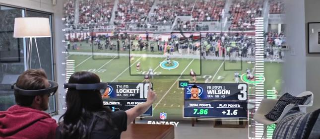 NFL HoloLens A
