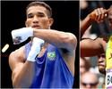"""Boxeador Esquiva Falcão guarda mágoa de Bolt: """"Me negou uma foto"""""""