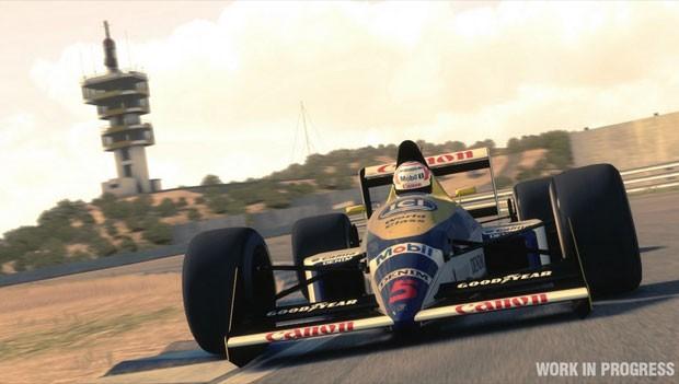 Carros clássicos de F1 estarão no game 'F1 2013' (Foto: Divulgação/Codemasters)