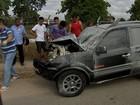 Dois policiais militares e quatro civis ficam feridos em acidente no Ceará