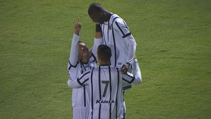 Bragantino x Avaí gol (Foto: Reprodução)