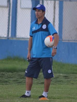 Técnico Betinho Confiança (Foto: Osmar Rios)
