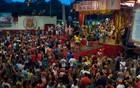 Mocidade Unida faz a festa da vitória (Juliana Borges/ G1 ES)