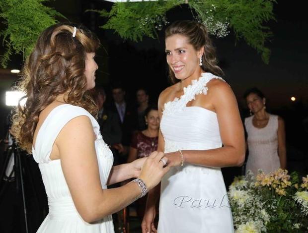 casamento lili e larissa volei de praia (Foto: Reprodução/Facebook)