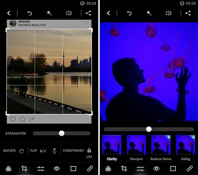 Usuário pode editar fotos no próprio celular antes de aplicar como ícones (Foto: Reprodução/Elson de Souza)