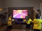 Família de Vitória prepara festa para ver a abertura da Olimpíada