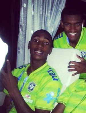 Gerson Brasil sub 20 (Foto: Reprodução / Instagram)