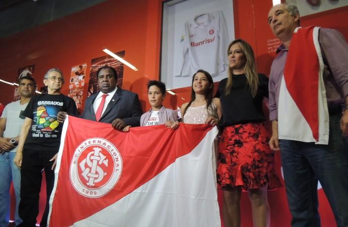 Memorial Fernandão Inter Beira-Rio (Foto: Tomás Hammes/GloboEsporte.com)