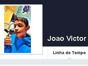 João Victor morreu após ser atropelado em avenida de Indaiatuba neste doming (3) (Foto: Reprodução / Facebook)
