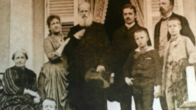 Foi apenas após a deposição de Dom Pedro II (centro), em 1889, que a pena de morte deixou de ser aplicada no Brasil (Foto: BBC)