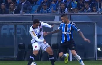 """Luan, do Grêmio, é o """"abusado"""" de julho com bela caneta em vascaíno"""