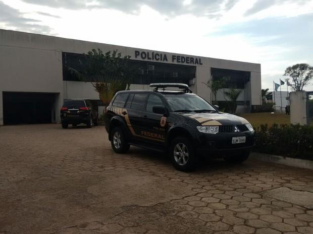Operação Mortalha é comandada pela Polícia Federal de Bauru (Foto: Carolina Abelin/TV TEM)