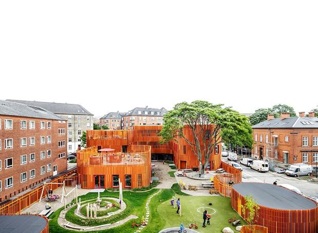 Forfatterhuset  (Foto: Reprodução/Rasmus Hjortshøj)