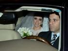 Famosos vão ao casamento de sobrinha de Luma de Oliveira