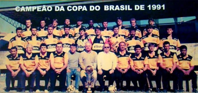 Criciúma Copa do Brasil 1991 (Foto: Reprodução)