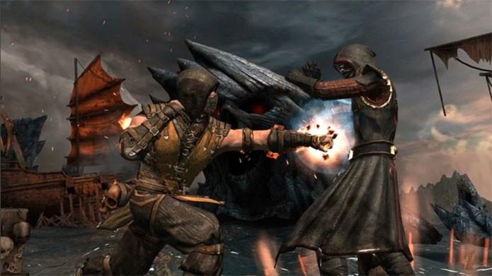 Mortal Kombat X tem versão diferente nos dispositivos móveis (Foto: Divulgação)