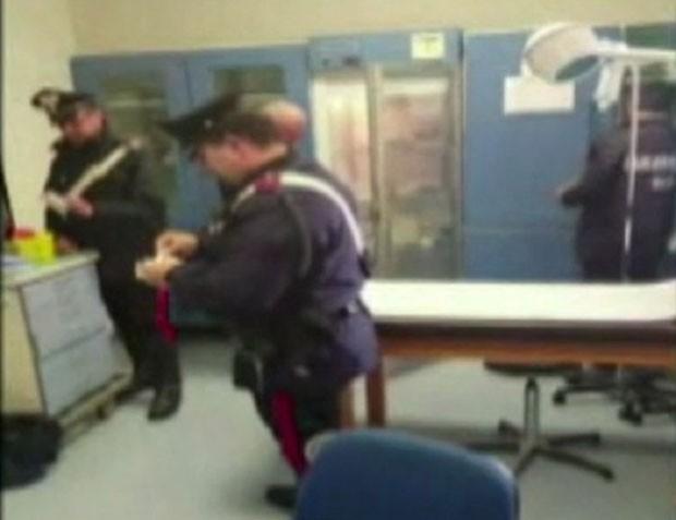 Segundo acusações, Fausta Bonino aplicou injeções maciças de eparina (Foto: Reprodução/Twitter/IBTimes)