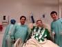 Henzel revela luta contra pneumonia e passará por cirurgia no pé nesta quarta