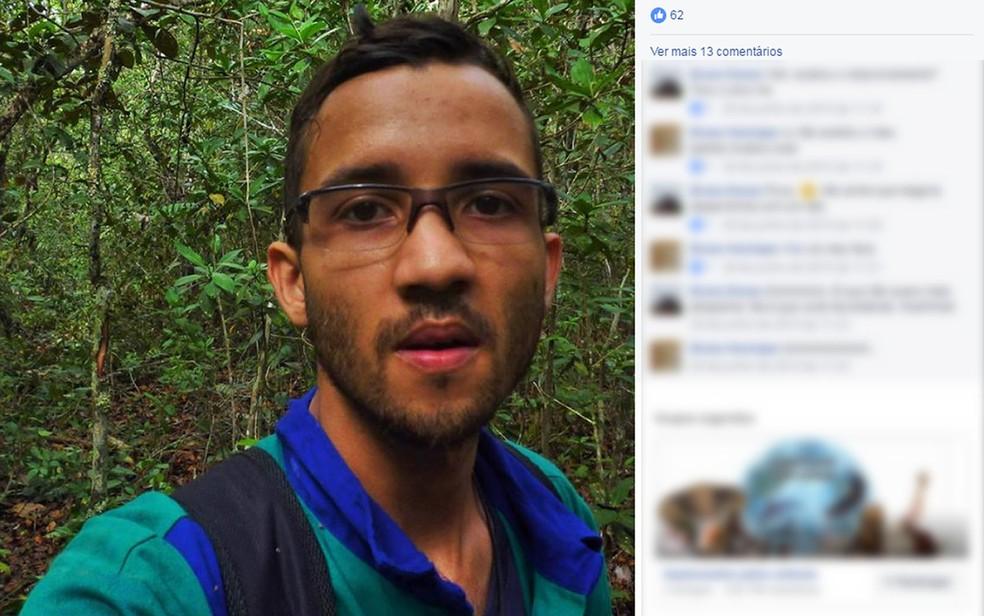 Estudante de geologia que morreu soterrado em MT iria colar grau nesta sexta-feira